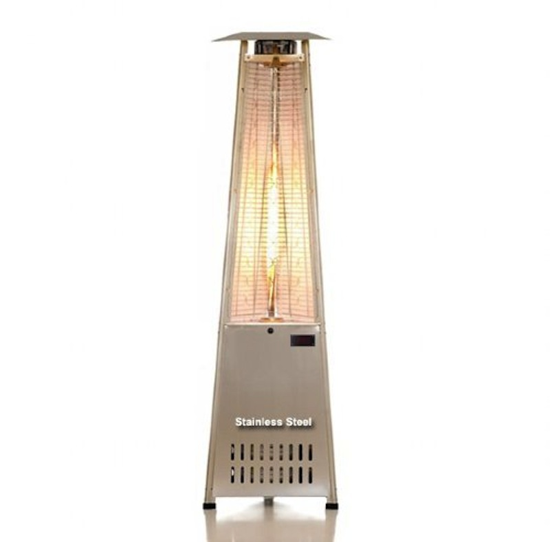 Elegant Tower Of Fire Outdoor Patio Heater