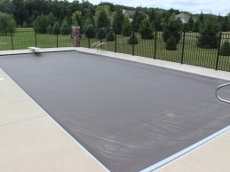 In Ground Automatic Pool Cover Large Rectangular