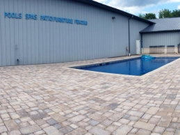 New Pavers and Display Pool