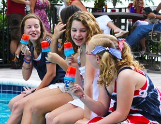 Fourth of July Pool Party Fun!