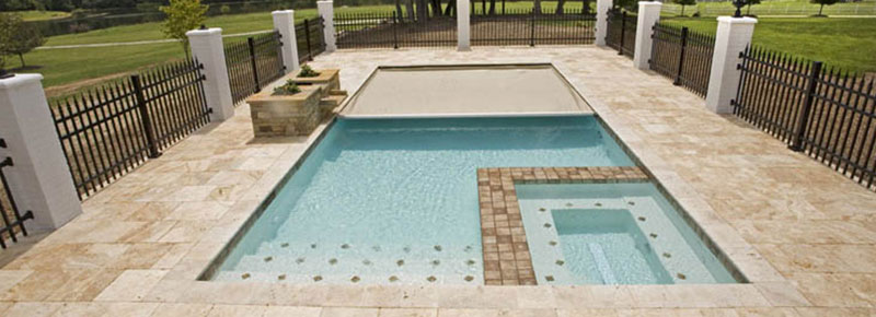 automatic pool covers. A Backyard Swimming Pool Is The Ultimate Source Of Family Fun! But When It Comes To Children And Pets, Also Safety Concerns. Automatic Covers